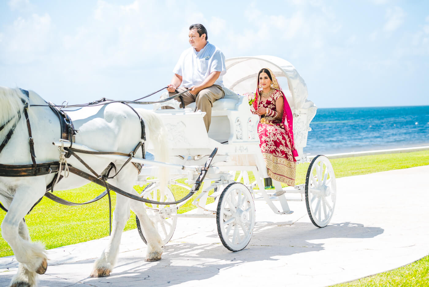 Moon Palace Cancun Mexico Punjabi wedding